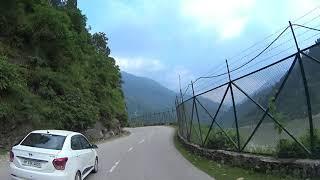 CHANDIGARH TO MANALI CAR DRIVE - HD