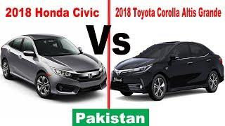 2018 toyota altis.  altis 2018 honda civic vs toyota corolla altis grande  pakistan with toyota altis