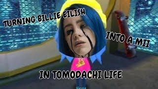 Turning Billie Eilish Into A Mii In Tomodachi Life