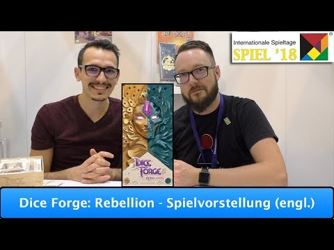 Dice Forge: Rebellion  [Libellud] - Spielvorstellung (engl.)