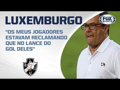 LUXEMBURGO FALA AO VIVO! Veja entrevista do técnico do Vasco após derrota para o Corinthians