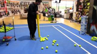 Topspin Ball Tube video
