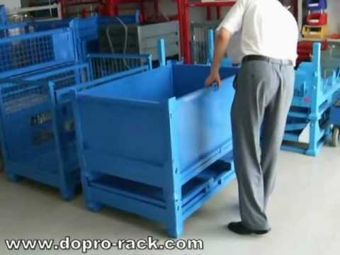 , title : 'collapsible metal sheet cages