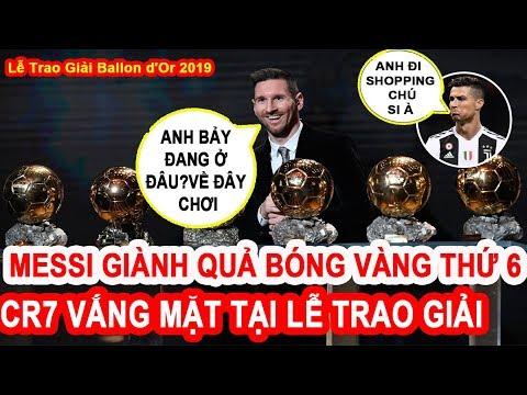 Toàn Cảnh Buổi Lễ Trao Giải QUẢ BÓNG VÀNG (Ballon d'Or) 2019.