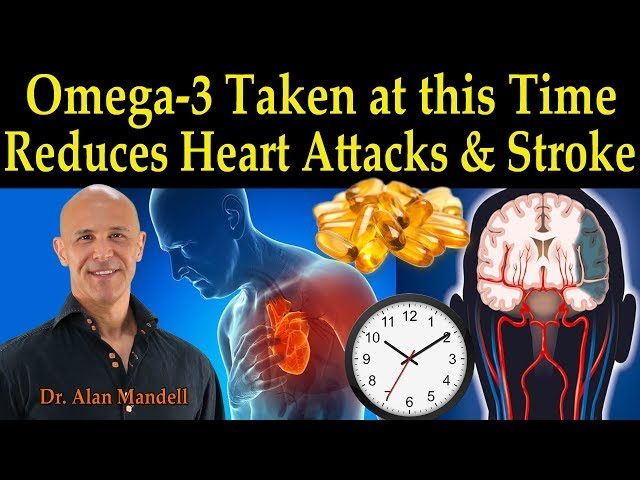 Omega-3's Taken at this Time of the Day Reduces Heart Attacks & Stroke - Dr. Alan Mandell D.C.