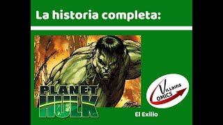 Planeta Hulk - Exilio