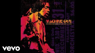 """Video thumbnail of """"Jimi Hendrix - Power of Soul (Jimi Hendrix: Machine Gun: Fillmore East 12/31/1969) (Audio)"""""""