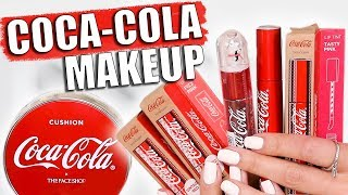 COCA-COLA MAKEUP COLLECTION | Fun or Flop