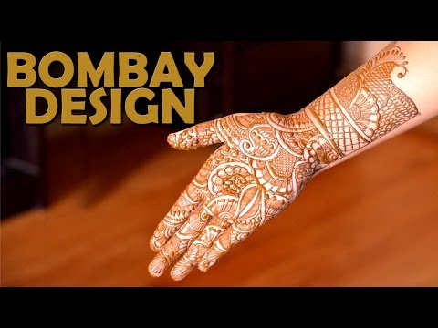 simple bridal mehndi design by alpha do it yourself