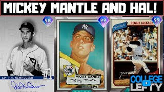 99 Ovr Mickey Mantle & 98 Ovr Hal Newhouser Debut! Going For A 12-1 Event Run! MLB The Show 20!