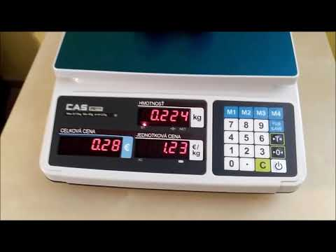 Obchodná váha CAS PR PLUS B
