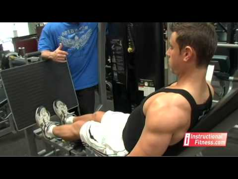 Instructional Fitness - Seated Calf Raises