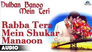 Rabba Tera Mein Shukar Manaoon Full Audio Song | Deepti