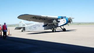 Ford Trimotor, Natrona County International Airport.