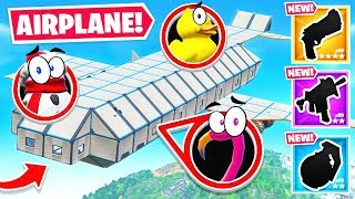 IMPOSSIBLE *PLANE* Prop HUNT For LOOT (Fortnite)