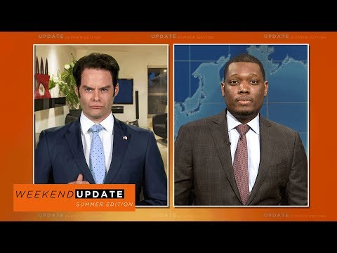 Weekend Update: Anthony Scaramucci FaceTimes the Show (Bill Hader) - SNL