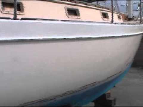 Verniciare a rullo la barca