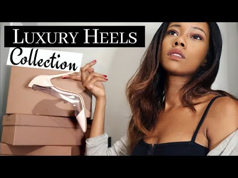 TRY ON DESIGNER HIGH HEELS COLLECTION | LUXURY HAUL 2019 | GIANVITO ROSSI PLEXI