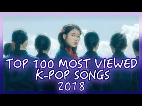 [TOP 100] MOST VIEWED K-POP SONGS OF 2018 | OCTOBER
