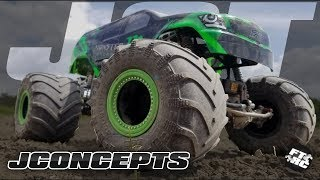 Trying Some NEW Tires On The Axial SMT10 | JConcepts JCT Monster Truck Tires