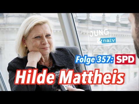 SPD-Rebellin Hilde Mattheis - Jung & Naiv: Folge 357 (!)