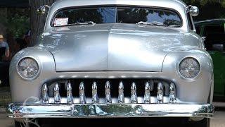Custom Cars At Kustom Kemps Of America - Lead Sled Spectacular Car Show