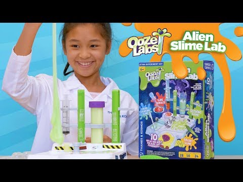 Youtube Video for Alien Slime Lab - 10 Awesome Experiments!