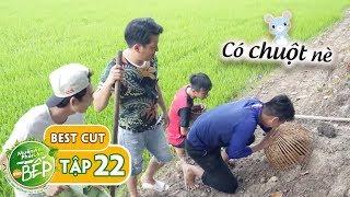 Cận cảnh Trường Giang bắt chuột đồng cùng Hồng Thanh, chụp thấy mà ham | Muốn Ăn Phải Lăn Vào Bếp