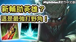 「Nightblue3中文」*全新英雄*派克 Riot釋出了一隻怪獸 這100%會被削啦!史上最強的打野角 誰說他是輔助啦?! (中文字幕) -LoL 英雄聯盟