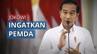 Jokowi Ingatkan Pemerintah Pusat dan Daerah Harus dalam Satu Visi yang Sama untuk Hadapi Corona