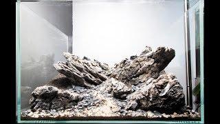 034l - 45P Nature Aquarium Mountain Aquascape -  Nigel