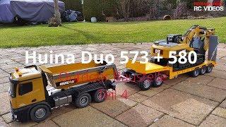 Huina 573 + Huina 580 - Outdoor Baustelle Teil 4