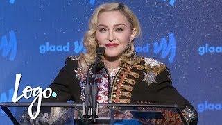 Madonna Accepts Advocate for Change Award (FULL SPEECH) | GLAAD Media Awards | Logo TV