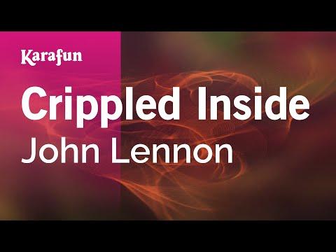 Crippled Inside - John Lennon | Karaoke Version | KaraFun