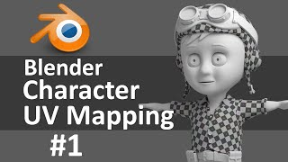 Blender Character UV Mapping 1 of 3