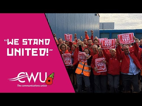 'We stand united': CWU leaders on the court verdict against UK postal workers' strike