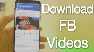 How To Download Facebook S On Android Devices Without Any App Software Directly In The Gallery