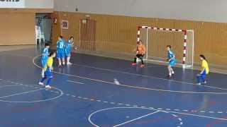 preview picture of video 'Fútbol Sala Femenino: Futur Vilamarxant 4-0 Big Band'