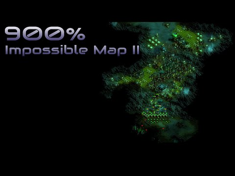 They are Billions - 900% No pause - Impossible Map 2 - Caustic Lands