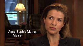 Anne-Sophie Mutter at the SFS