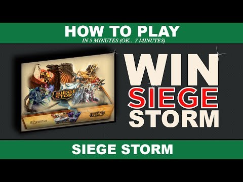 How to play Siege Storm