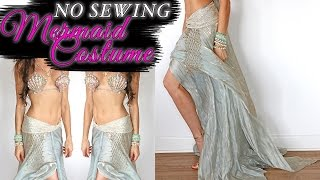 SEXY MERMAID COSTUME - NO SEWING