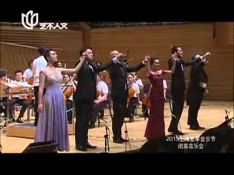 Lucia sextet with Shanghai Symphony Orchestra
