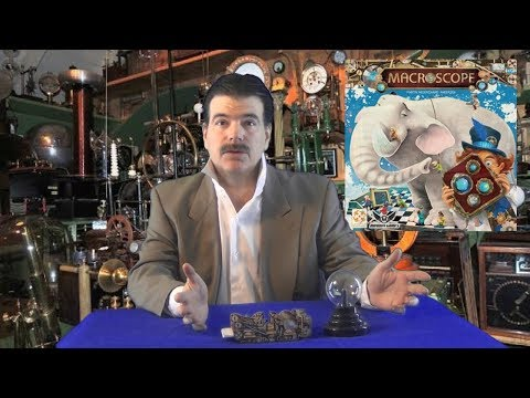 Tesla Talks for a Macroscope Board Game Review
