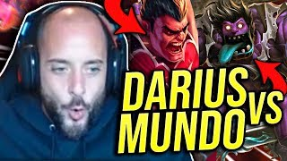 DUNKING ON MUNDO IN TOP LANE! SEASON 9 DARIUS VS DR. MUNDO - Road To Challenger | League of Legends