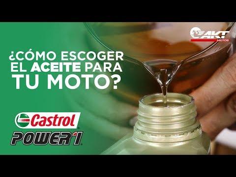 Cómo escoger el aceite para tu moto