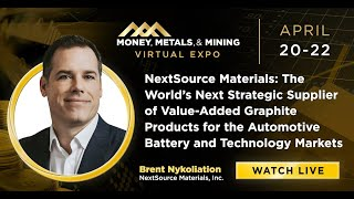 NEXTSOURCE MATERIALS: The World's Next Strategic Supplier of Value-Added Graphite Products for the Automotive Battery and Technology Markets