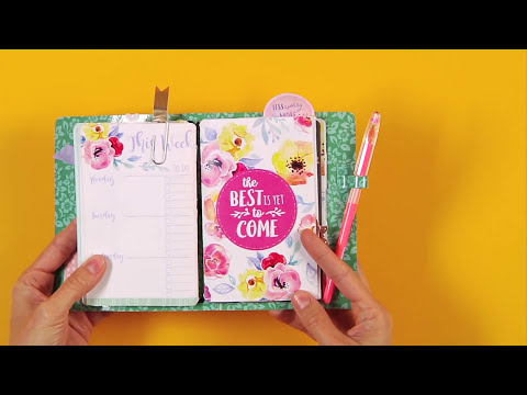 DIY Custom-Made Traveler's Notebook with Katelyn Lizardi | Sizzix