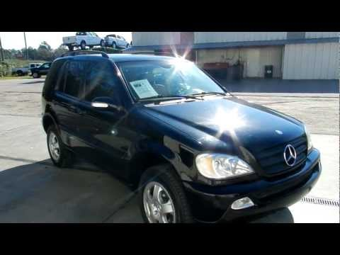 2002 MERCEDES-BENZ ML320 * LEATHER LOADED LOW MILES FOR SALE RAVENEL FORD SOUTH CAROLINA
