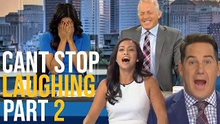 News Reporters Cant Stop Laughing Bloopers Part 2